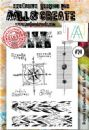 AALL and Create A6 Clear Stamp Set #24 by Bipasha BK